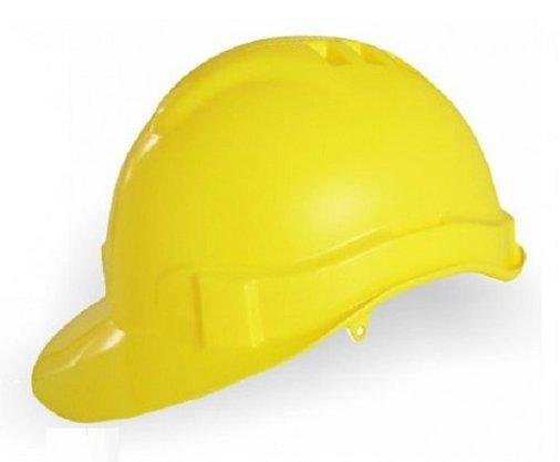 Capacete Segurança Amarelo Genesis Sem Suspensão CA 36099 Libus