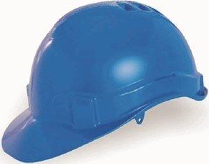 Capacete Segurança Azul Genesis Sem Suspensão CA 36099 Libus