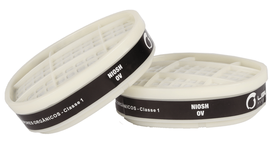 Cartuchos Químicos G01 para Máscara Semi Facil Série 9000 Libus