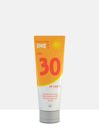 Creme Protetor Solar UV FPS 30 120 gramas Luvex