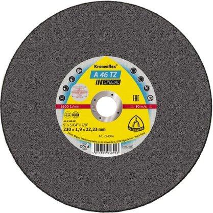 Disco Corte 9 X 1.9mm X 7/8 A46TZ SPECIAL Klingspor
