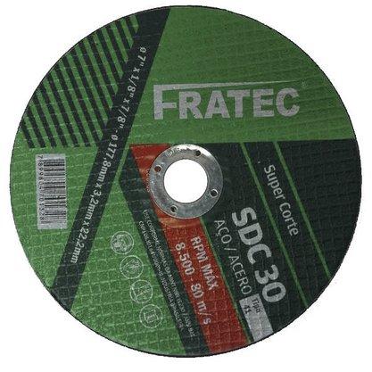 "Disco de Corte 12"" x 2.8mm x 1"" A30RBF SDC 30 Fratec"