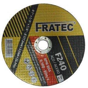 "Disco de Corte  9"" x 1/8 x 7/8 A24QBF F 240 Fratec"