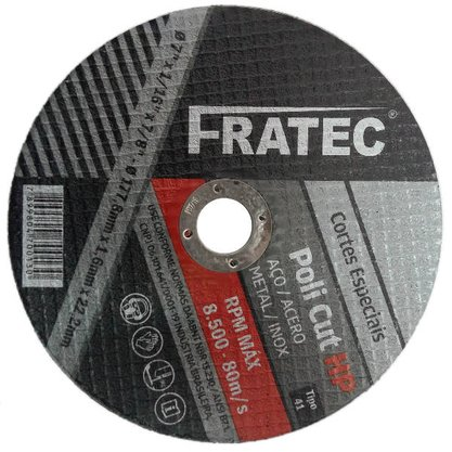 "Disco de Corte 9"" x 2.0mm x 7/8 ZA36UF Poli Cut HP Fratec"