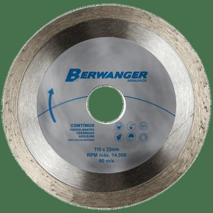 "Disco Diamantado 4""/110mm Continuo ABL Tools Berwanger"