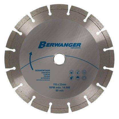 """Disco Diamantado 4""""/110mm Segmentado ABL Tools Berwanger"""
