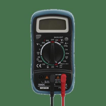 Multímetro Digital WS8950 Wesco