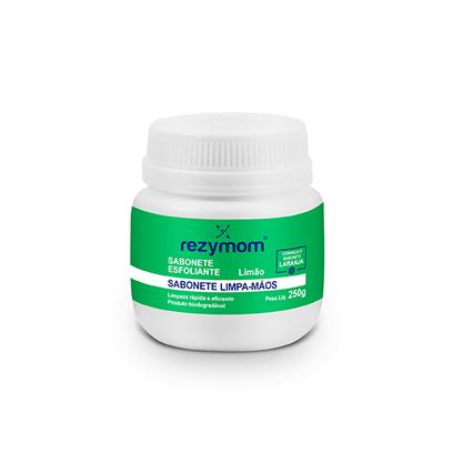 Sabonete Esfoliante Limpa Mãos Limão 250 gramas  Rezymom