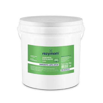 Sabonete Esfoliante Limpa Mãos Limão 3 kilos Rezymom