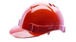 Capacete Segurança Vermelho Genesis Sem Suspensão CA 36099 Libus